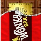 Willy Wonka Golden Ticket by polgobloke