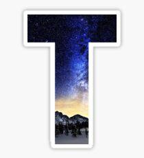 T Night Stars Sticker