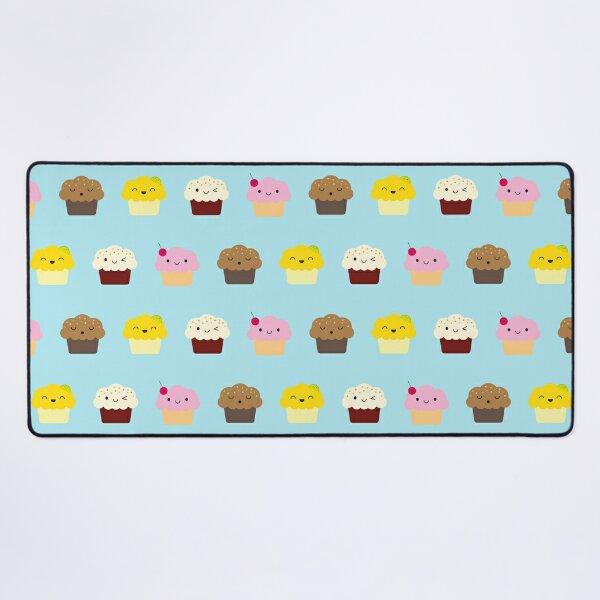 Kawaii Cupcakes Desk Mat