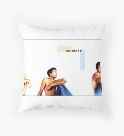 Male Boudoir Throw Pillow