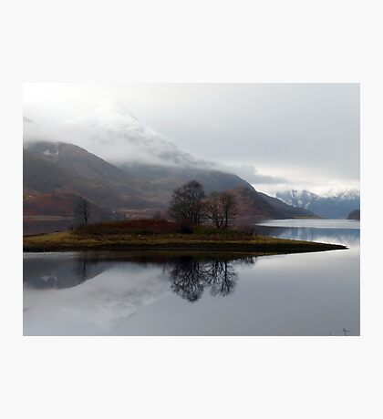 Reflections on Loch Leven Photographic Print