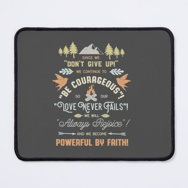 CONVENTION THEMES 2017-2021 (DARK) Mouse Pad