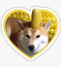Doggo Stickers: Corndog Sticker
