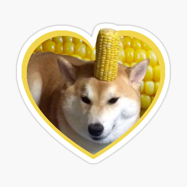 Doggo Stickers: Corndog Sticker