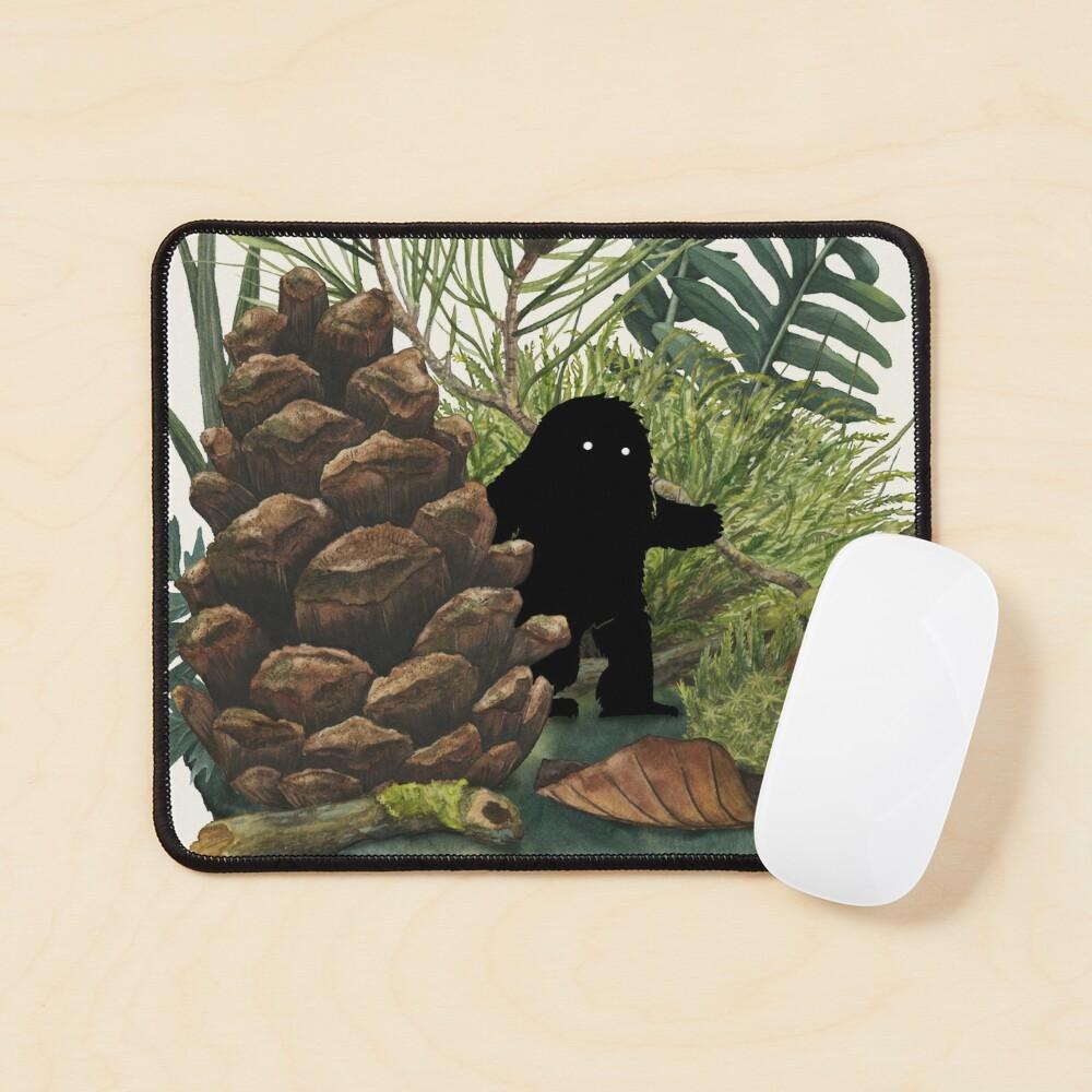 Tiny Sasquatch Mouse Pad