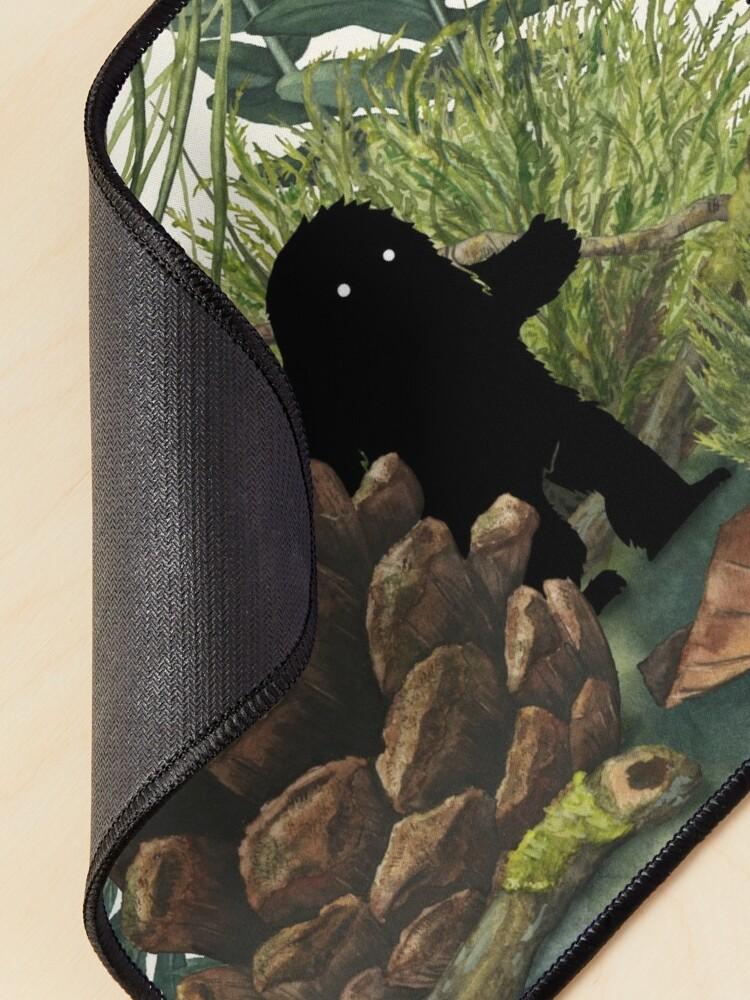 Alternate view of Tiny Sasquatch Mouse Pad