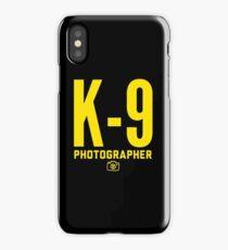 K-9 Photographer iPhone Case/Skin