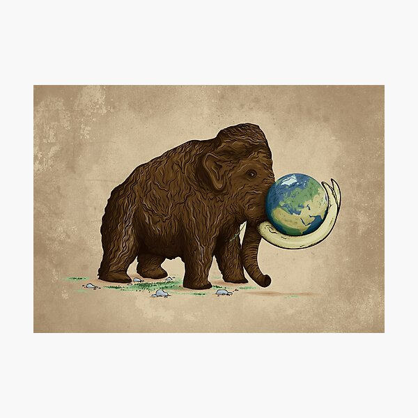 Save the Planet III Photographic Print