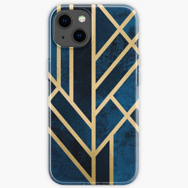 Art Deco Midnight iPhone Soft Case