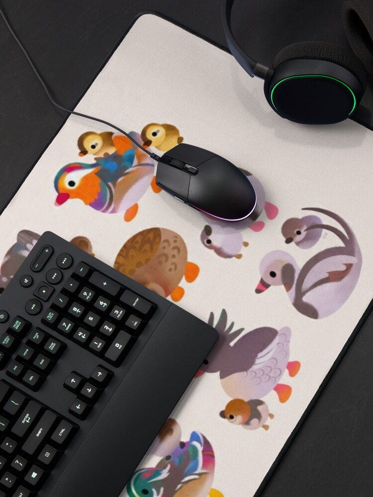 Alternate view of Duck and Duckling Mouse Pad