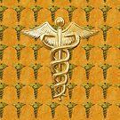 Gold Medical Profession Symbol by Packrat
