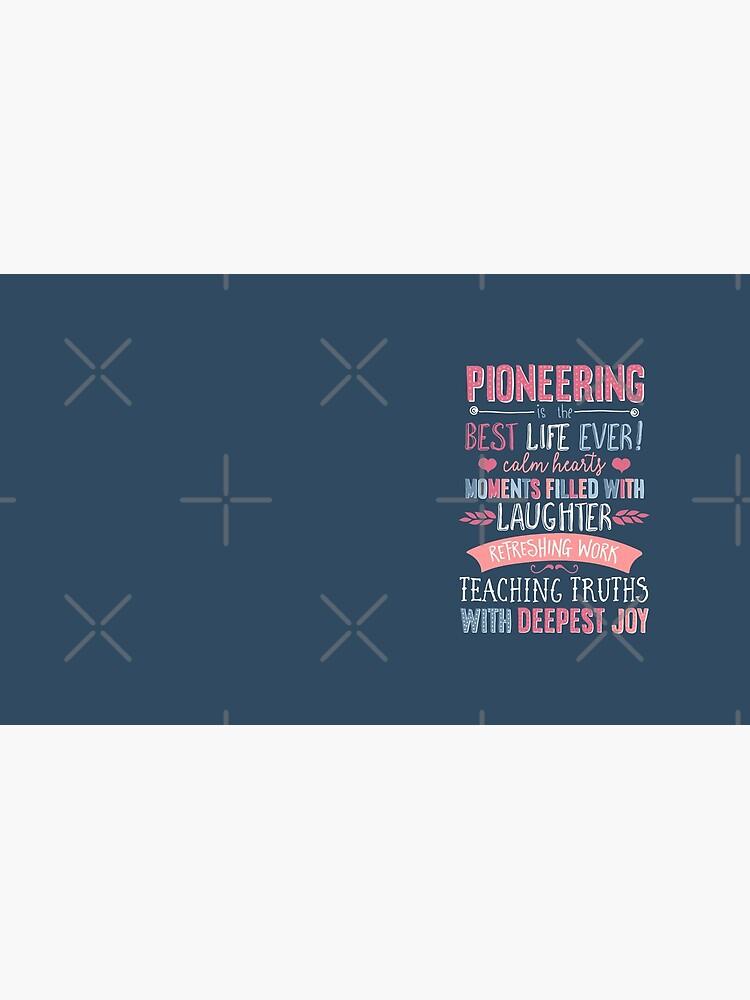 PIONEERING  by JenielsonDesign