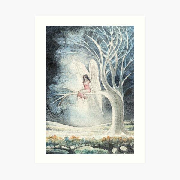 An Angel Resting Art Print