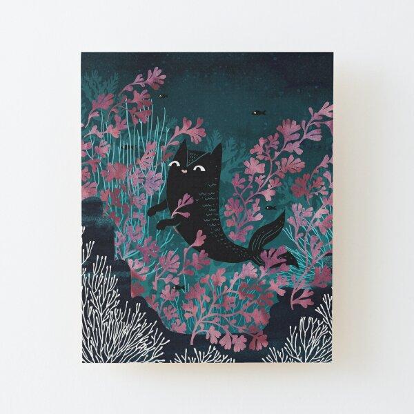 Undersea Wood Mounted Print