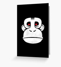 The Great Ape Greeting Card