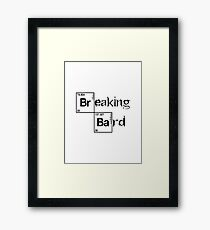 Dungeons & Dragons - Breaking Bard (Critical Role Fan Design) Framed Print