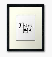 Dungeons & Dragons - Breaking Bard (Critical Role Fan Design) Framed Print