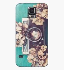 Camera & Hydrangea Case/Skin for Samsung Galaxy