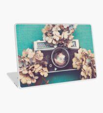 Camera & Hydrangea Laptop Skin