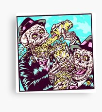 Beer Party Canvas Print