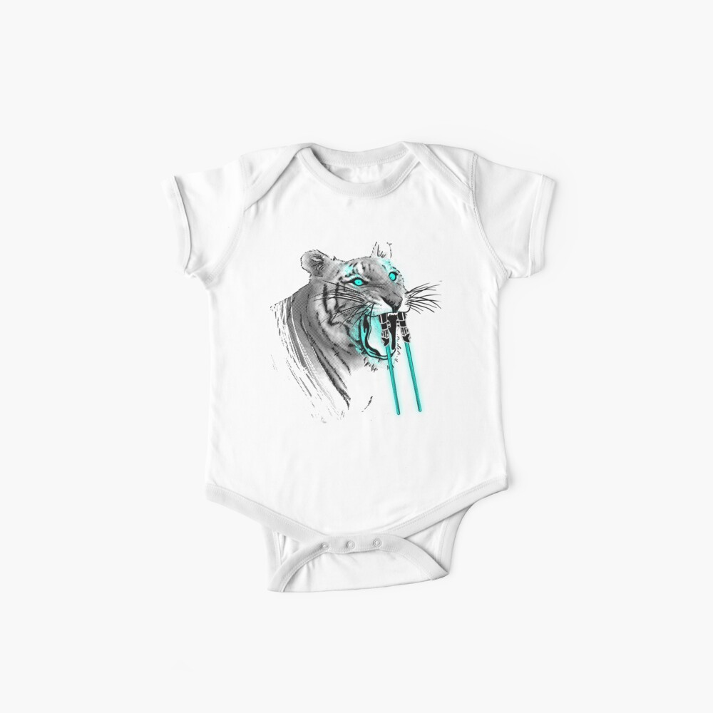 Saber-toothed Tiger Baby One-Piece