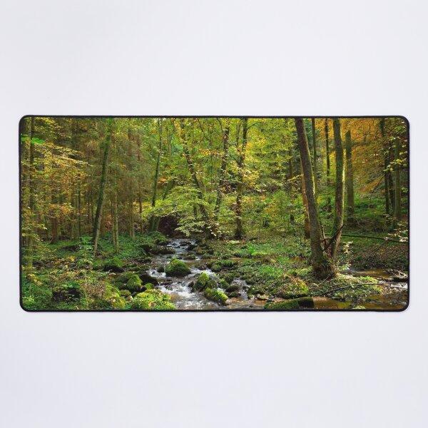 Autumn River Desk Mat