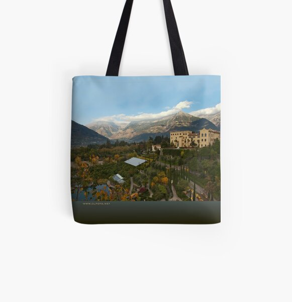 Schloss Trauttmansdorff, Merano/Meran, Italy All Over Print Tote Bag
