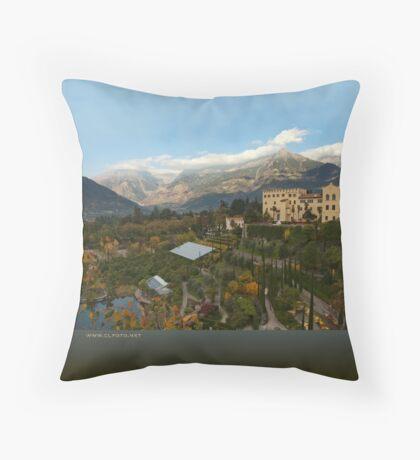 Schloss Trauttmansdorff, Merano/Meran, Italy Throw Pillow