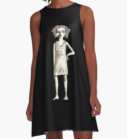 Second to none A-Line Dress