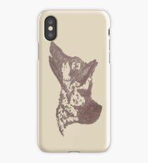 I hear you - German Shepherd iPhone Case/Skin