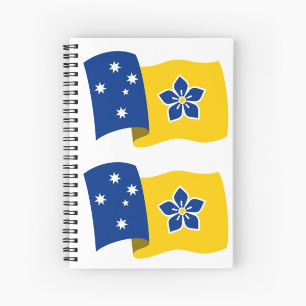 Proposed Australian Capital Terrritory (ACT) Flag - Flying Spiral Notebook