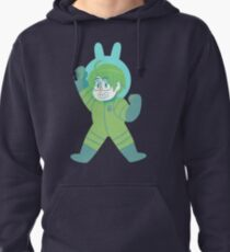 Space Rabbit America Pullover Hoodie