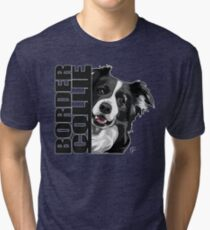 BORDER COLLIE Tri-blend T-Shirt