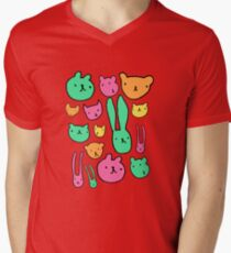 animals two Mens V-Neck T-Shirt
