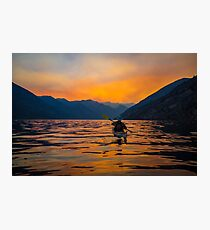 Smokey Sunsets Photographic Print