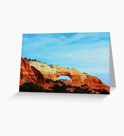 Arches Southern Utah Greeting Card