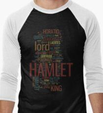Hamlet Word Play Men's Baseball ¾ T-Shirt