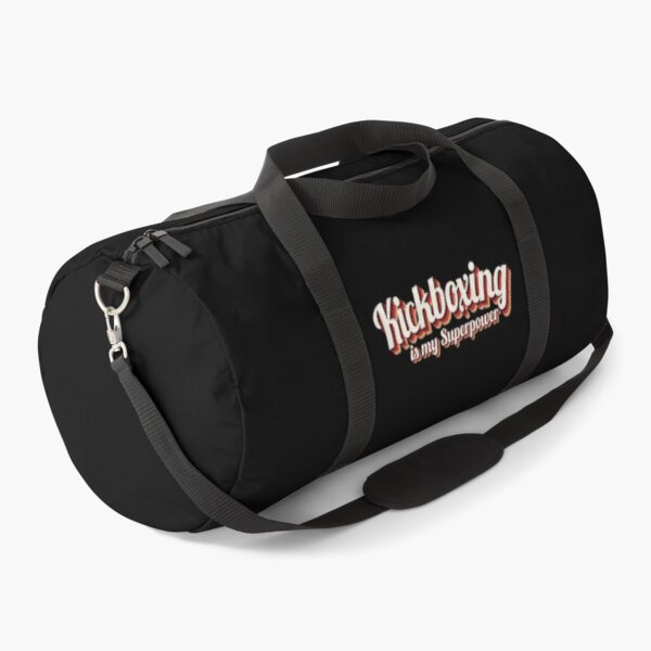 Kickboxing is my Superpower Duffle Bag