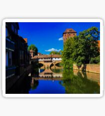 point of wiew of nuremberg Sticker
