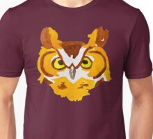 Great Horned Owl Watercolor Unisex T-Shirt