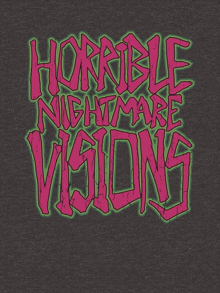 Horrible Nightmare Visions - Vintage by MoragHickman