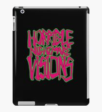 Horrible Nightmare Visions iPad Case/Skin