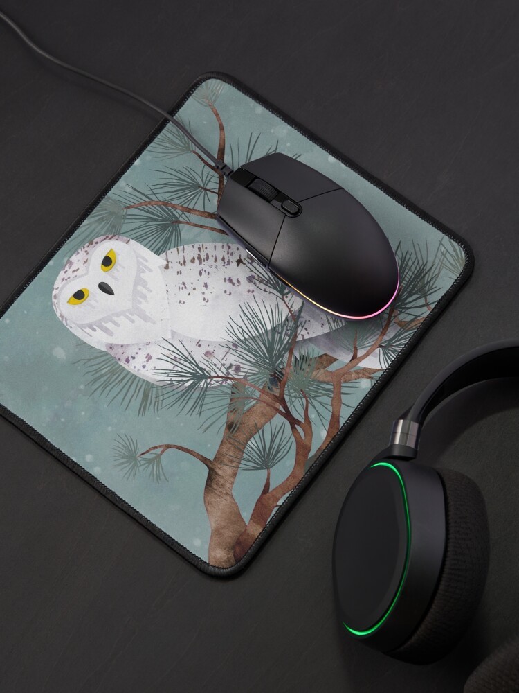 Alternate view of Snowy Mouse Pad