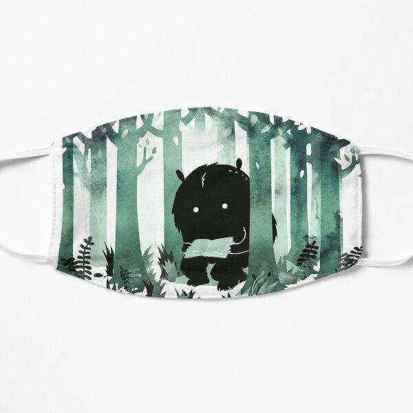 A Quiet Spot in Green Flat Mask