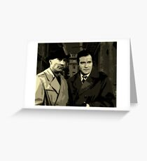 Kirk and Picard Detective Agency Greeting Card