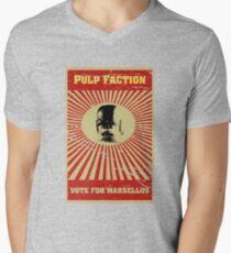 Pulp Faction - Marsellus Men's V-Neck T-Shirt