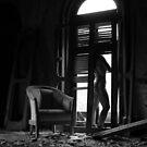 Satori- Self Portrait Abandoned Mansion, NY by kailani carlson