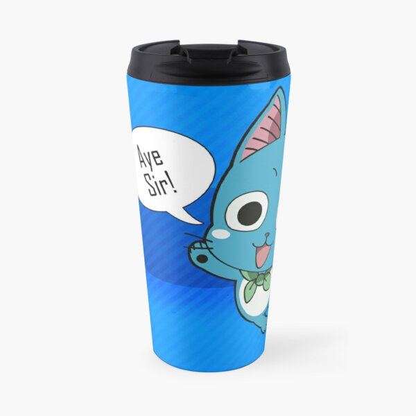 fairy tail - happy Travel Mug