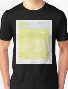 USGS TOPO Map Arkansas AR De Gray 258302 1970 24000 Unisex T-Shirt