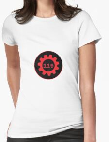 Red 119 Gear Womens Fitted T-Shirt